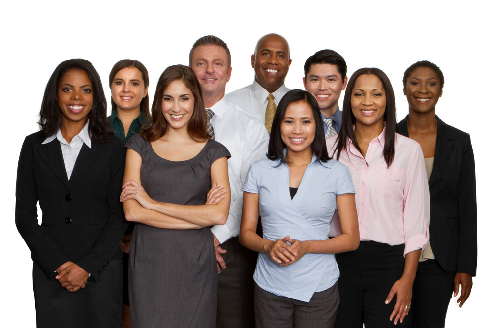 Photo of a Diverse Business Team